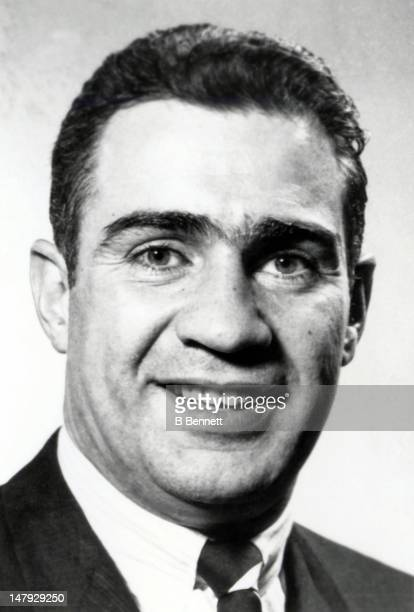 General manager Jim Gregory of the Toronto Maple Leafs poses for a portrait circa 1970 in Toronto Ontario Canada