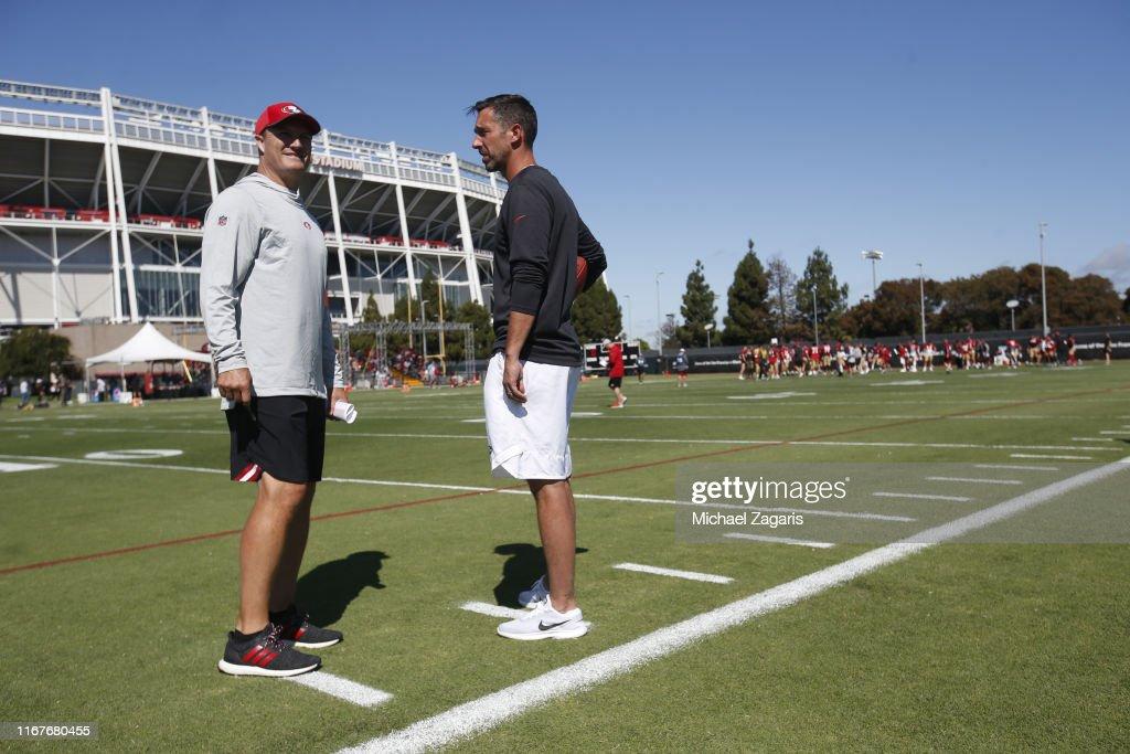 San Francisco 49ers Training Camp : News Photo