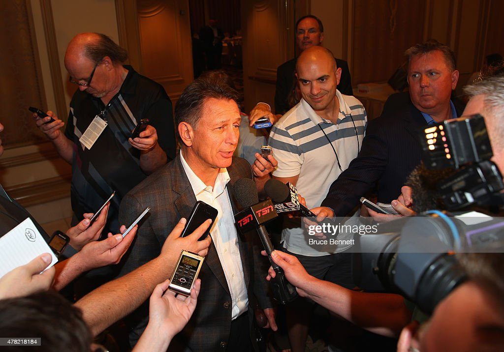 NHL General Managers Media Opp : News Photo