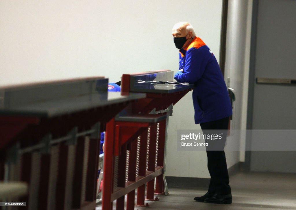 New York Islanders Training Camp : News Photo