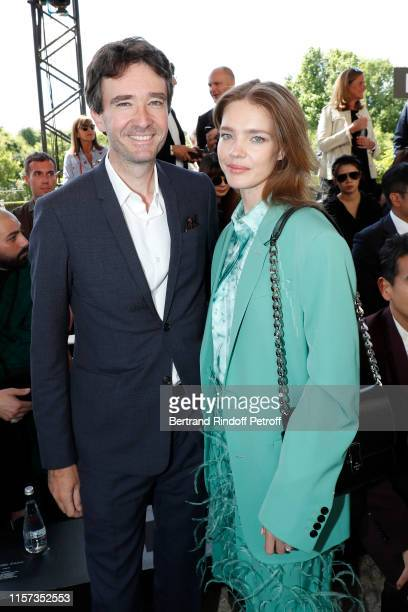 General manager of Berluti Antoine Arnault and Natalia Vodianova attend the Berluti Menswear Spring Summer 2020 show as part of Paris Fashion Week on...