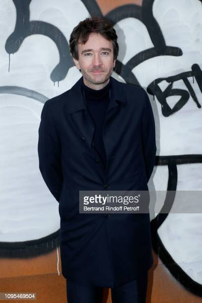 General manager of Berluti Antoine Arnault attend the Louis Vuitton Menswear Fall/Winter 2019-2020 show as part of Paris Fashion Week on January 17,...