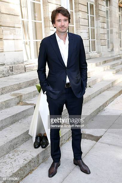 General manager of Berluti Antoine Arnault attends the Berluti show as part of the Paris Fashion Week Menswear Spring/Summer 2015 Held at Ecole des...