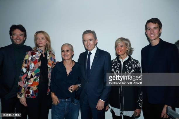 General manager of Berluti Antoine Arnault Louis Vuitton's executive vice president Delphine Arnault Stylist Maria Grazia Chiuri Owner of LVMH Luxury...