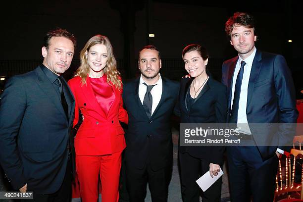 General manager of Berluti Antoine Arnault Model and President of the 'Naked Heart Foundation' Natalia Vodianova felicitators sale Vincent Perez...
