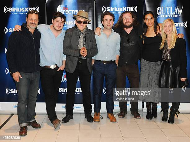 General manager of Harvest Records Piero Giramonti, recording artists Marcus Mumford, Elvis Costello, Taylor Goldsmith, Jim James and Rhiannon...