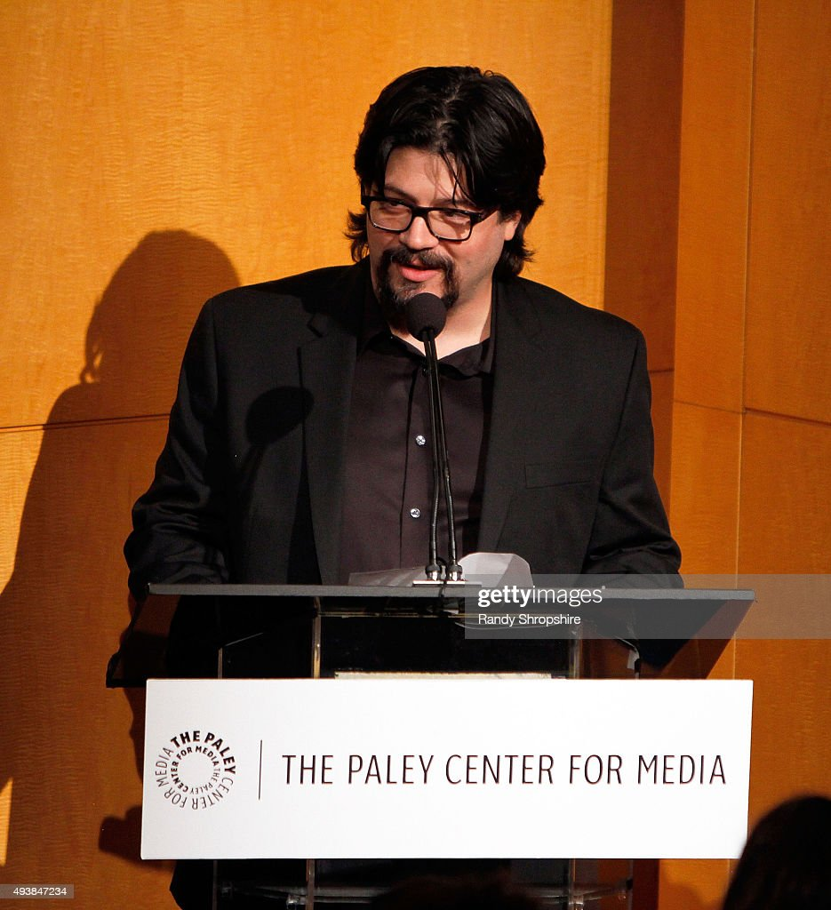 General manager of Pivot Kent Rees attends the discussion panel for 'Please Like Me' at The Paley Center for Media on October 22, 2015 in Beverly Hills, California.