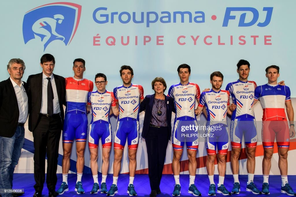 941dff03a General manager of the Groupama-FDJ cycling team Marc Madiot ...