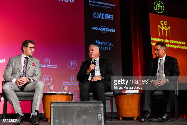 General manager of the Montreal Canadiens Marc Bergevin , general manager of the Florida Panthers Dale Tallon, and general manager and executive Vice...