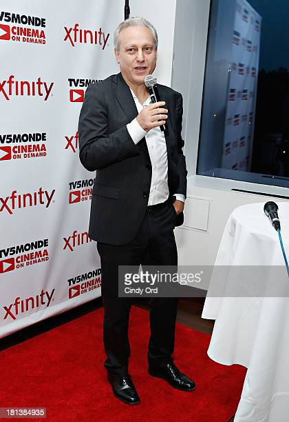 General Manager of TV5MONDE Yves Bigot attends the TV5MONDE Cinema On Demand Celebration at A Voce Columbus on September 20 2013 in New York City