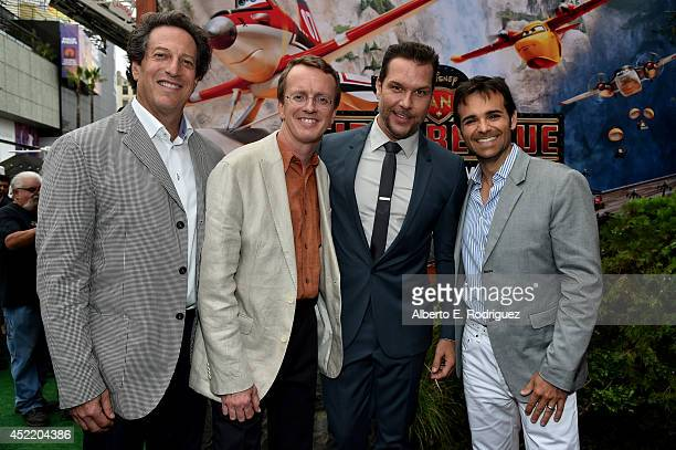 General Manager of Walt Disney Animation Studios Andrew Millstein Director/screenwriter/writer Bobs Gannaway actor Dane Cook and producer Ferrell...