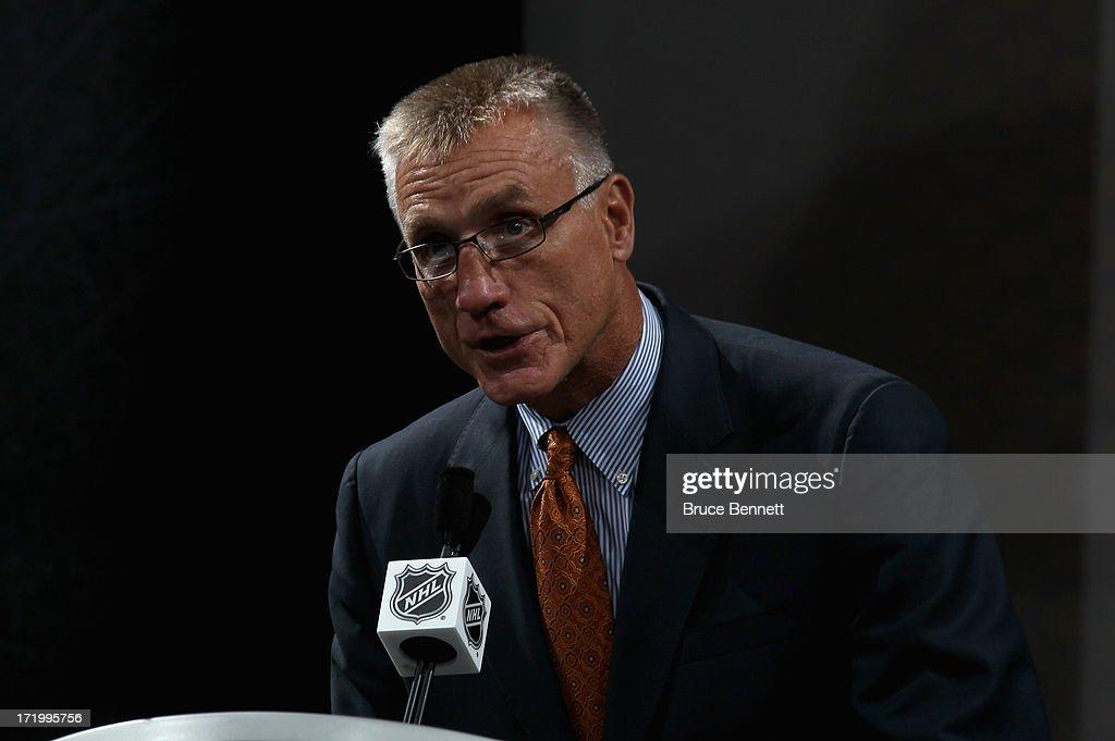 2013 NHL Draft : News Photo