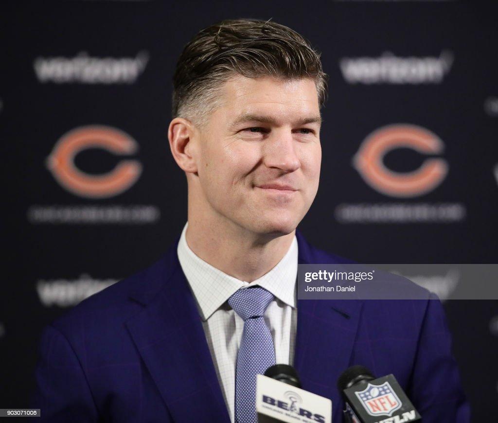 Chicago Bears Introduce Matt Nagy : News Photo