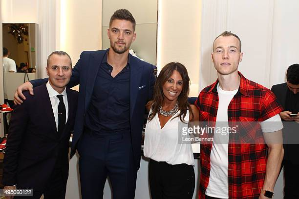 General Manager Saks Fifth Avenue Beverly Hills Todd Hoyles, Dallas Maverick Chandler Parsons, Executive Director Beth Moskowitz, and DJ SKee...