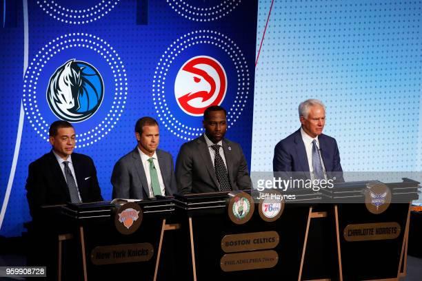 General Manager Scott Perry Team President Rick Gotham GM of the Delaware Blue Coats Elton Brand and General Manager and President of Basketball...