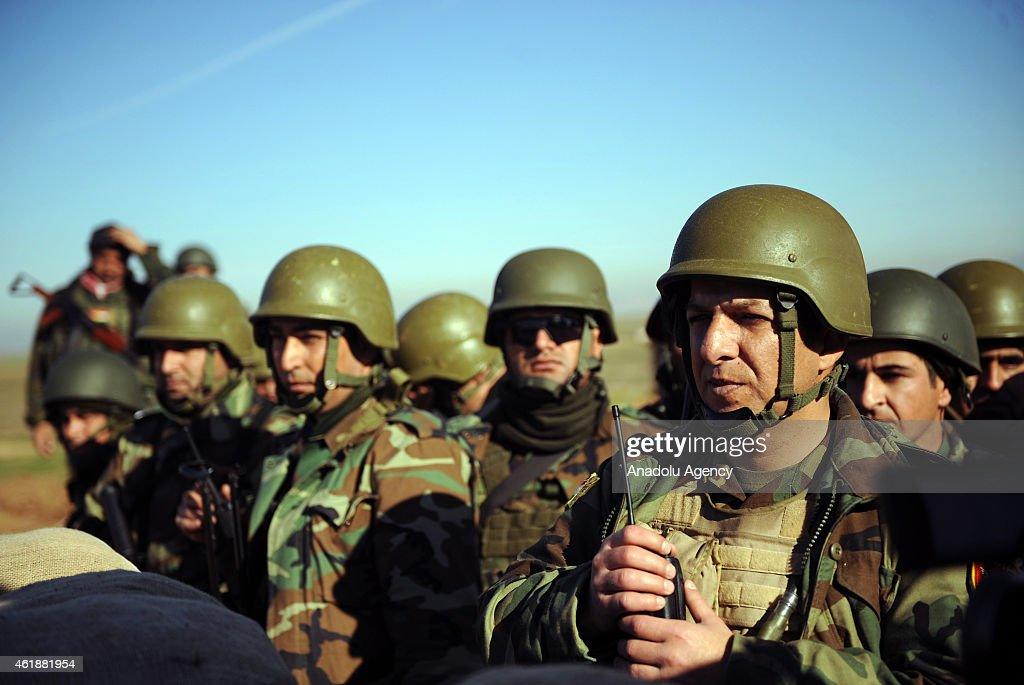 Peshmerga continue to proceed in Mosul : News Photo