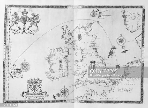 [A general map of the route of the Armada around the British Isles] From 'Expeditionis Hispanorum in Angliam vera descriptio Anno D M D LXXXVIII'...