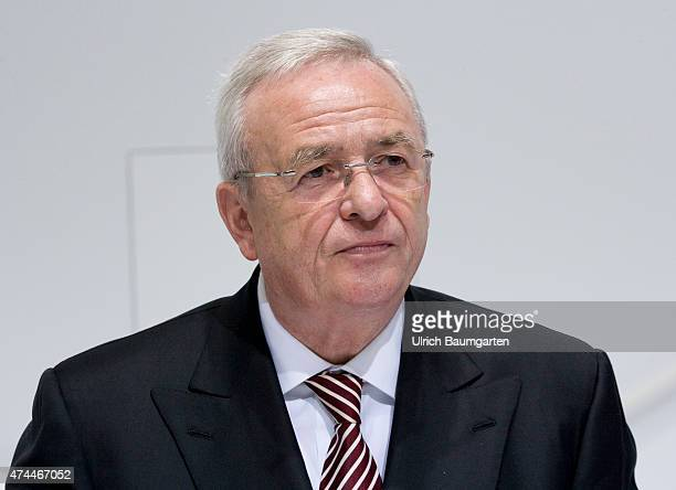 General meeting of AUDI AG in Neckarsulm Dr Martin Winterkorn chairman of the board of AUDI AG