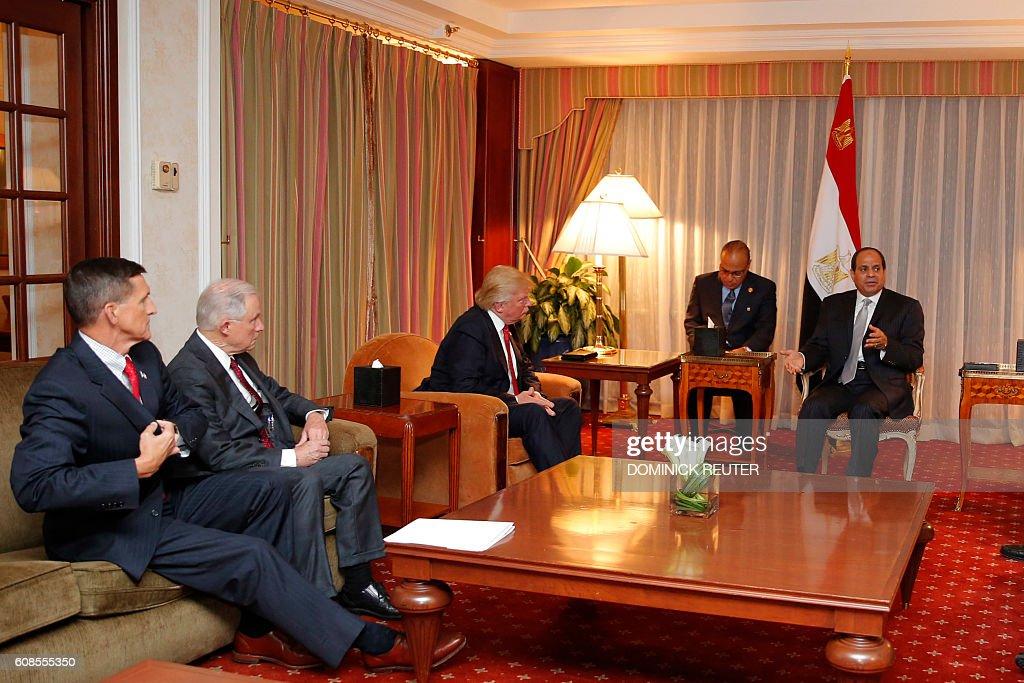 US-EGYPT-POLITICS-VOTE-REPUBLICANS-TRUMP : Nieuwsfoto's