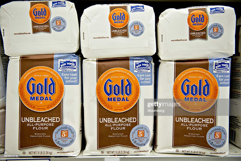 General Mills Brand Products On the Shelf Ahead of Earnings Figures : News Photo