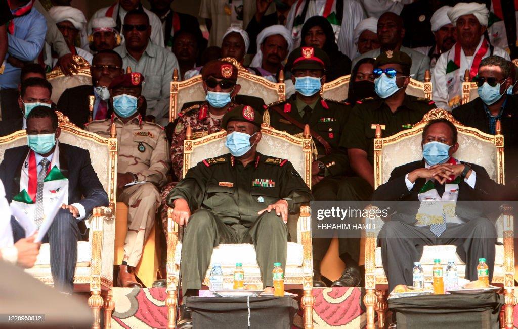 SUDAN-POLITICS-CONFLICT-PEACE : News Photo