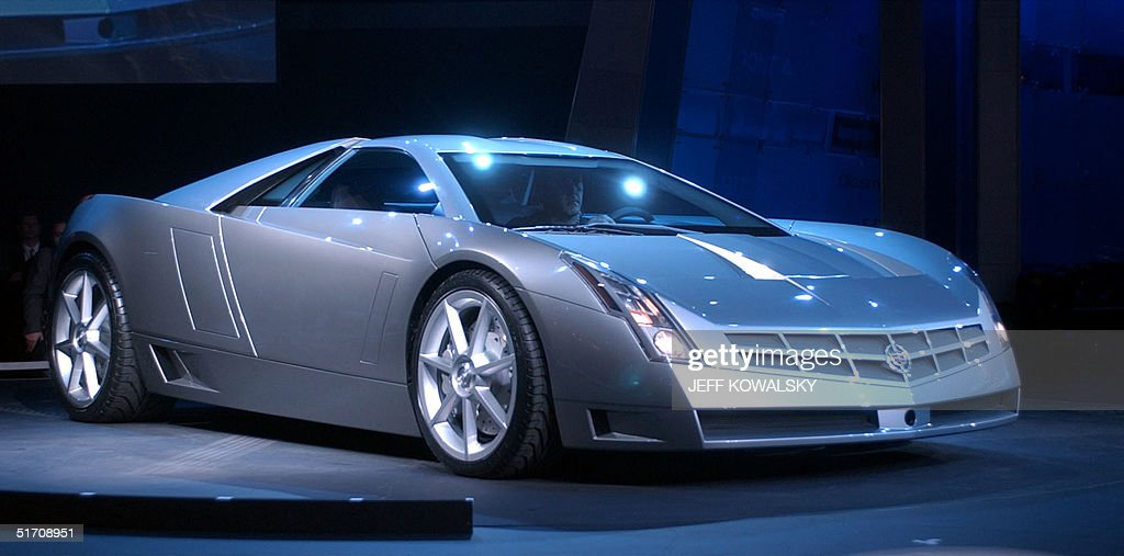 General Motor Corp. Cadillac division shows off th : News Photo