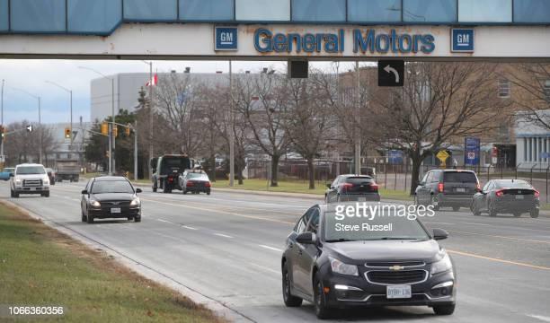 OSHAWA ON NOVEMBER 28 General Motors assembly plant in Oshawa November 28 2018