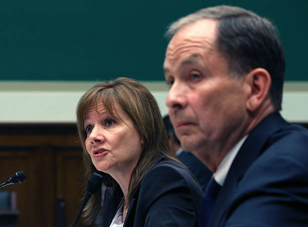 Gm ceo mary barra testifies at house hearing on ignition for General motors washington dc
