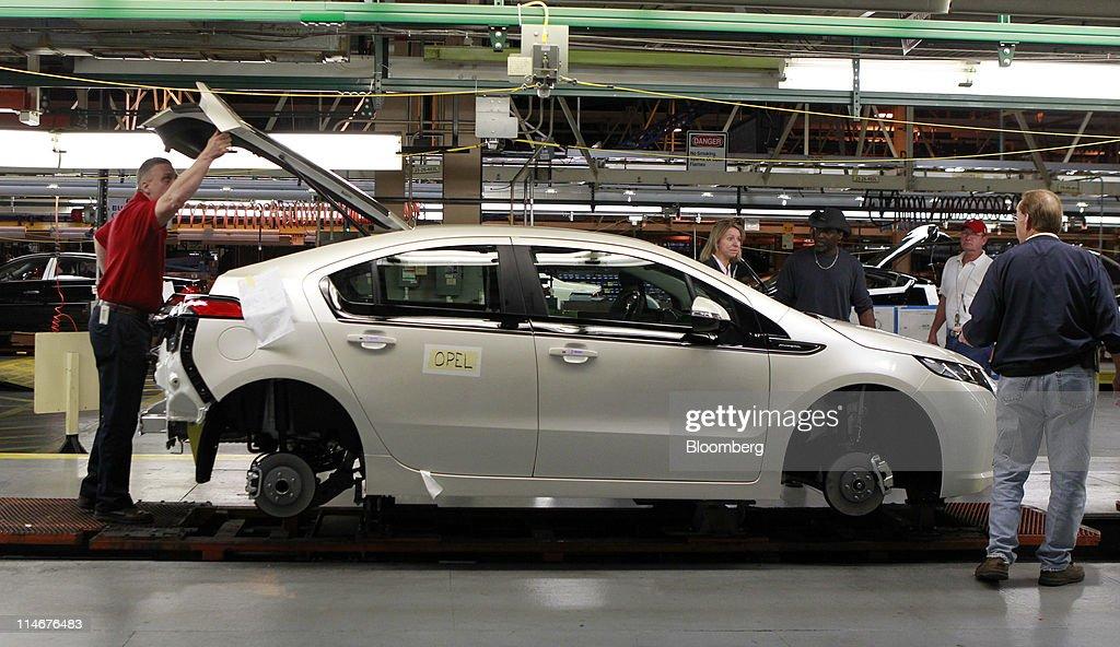 A General Motors Co 2012 Opel Ampera Gms European Version Of The