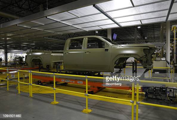 A General Motors Co  2020 GMC Sierra HD pickup truck frame