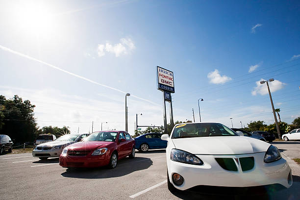 General Motors Co Vehicles Sit On The Lot At Coggin Pontiac Buick Gmc Auto