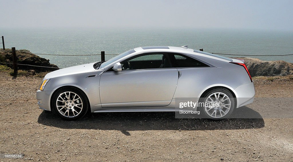 General Motors Co.'s 2011 Cadillac CTS Coupe is displayed for a photo in the Marin Headlands in Sausalito, California, U.S., on Monday, June 14, 2010. GM is making a push to revive the Cadillac brand which has fading appeal, aging customers and trouble persuading buyers it's worth paying a premium. Photographer: Mark Elias/Bloomberg via Getty Images