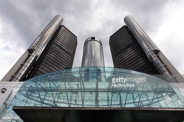 General Motors Renaissance Center on July 18 2014 in Detroit Michigan