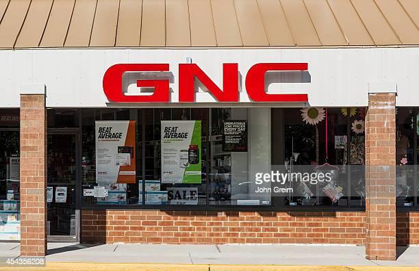 General Nutrition Corporation GNC store exterior
