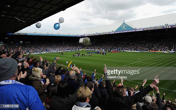 General of Hillborough during the Npower League One match between Sheffield Wednesday and Wycombe Wanderers at Hillsborough Stadium on May 5 2012 in...