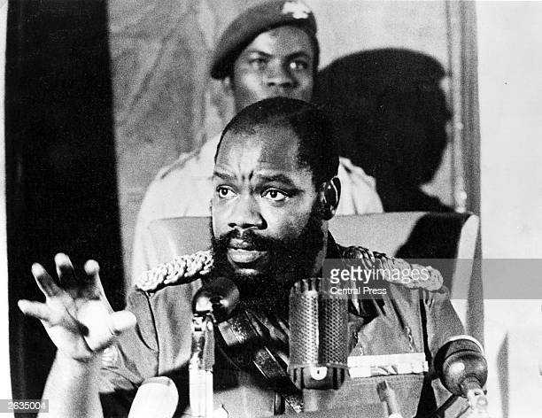 General Ojukwu former Biafran leader has appealed to governments to save his people from extermination