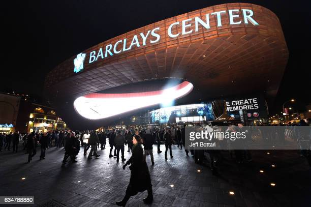 A general outside the arena before the UFC 208 event inside Barclays Center on February 11 2017 in Brooklyn New York