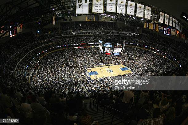 General overall view during Game Two of the 2006 NBA Finals on June 11, 2006 at the American Airlines Center in Dallas, Texas. The Mavs won 99-85....