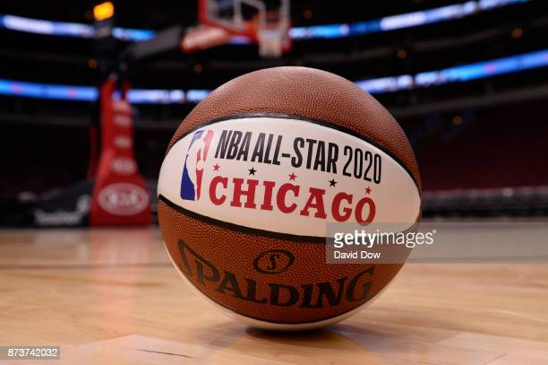 A general overall view of the NBA AllStar 2020 Announcement ball on November 10 2017 at the United Center in Chicago Illinois NOTE TO USER User...