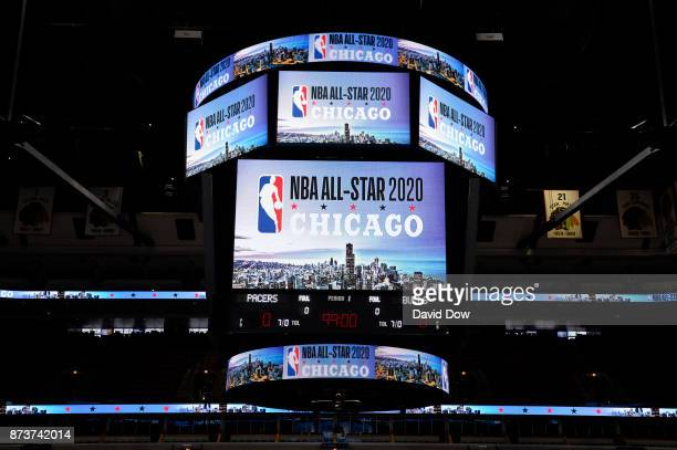 A general overall view of the NBA AllStar 2020 Announcement on November 10 2017 at the United Center in Chicago Illinois NOTE TO USER User expressly...