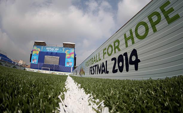 BRA: 2014 FIFA Football For Hope Festival - Rio De Janiero