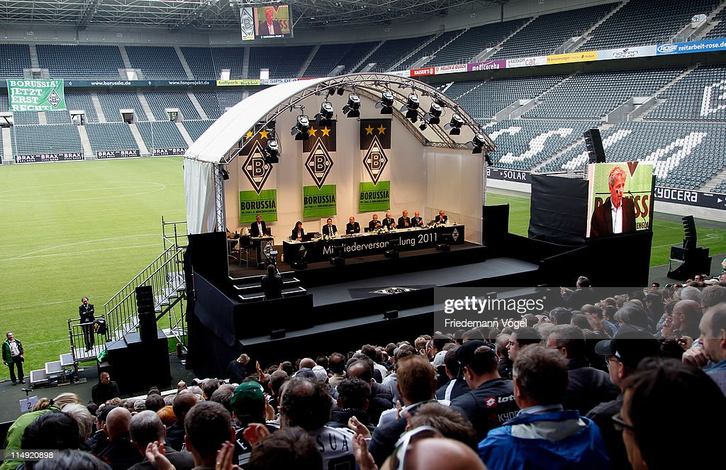 Borussia M'Gladbach - Annual General Meeting : News Photo