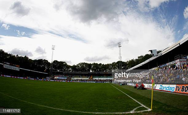 A general overview during the Dutch Eredivise Play Off match between VVV Venlo and FC Volendam at Seacon Stadion de Koel on May 22 2011 in Venlo...