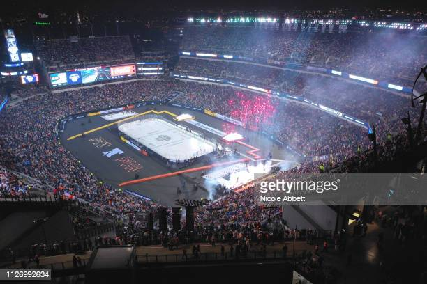 A general overview is seen during the 2019 Coors Light NHL Stadium Series game between the Pittsburgh Penguins and the Philadelphia Flyers at Lincoln...