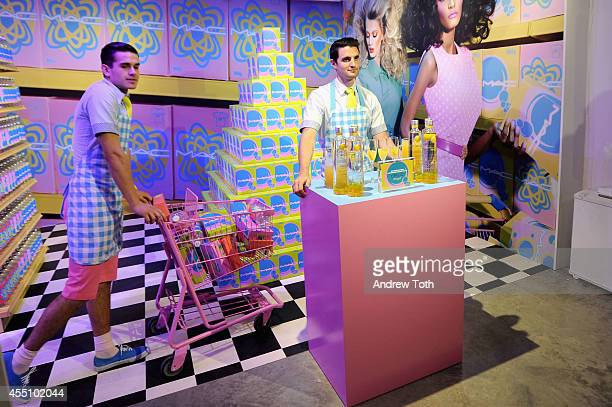 A general overview of atmosphere during MAC Cosmetics and Miles Aldridge celebrate NYC Rizzoli book launch Miles Of MAC at Steven Kasher Gallery on...