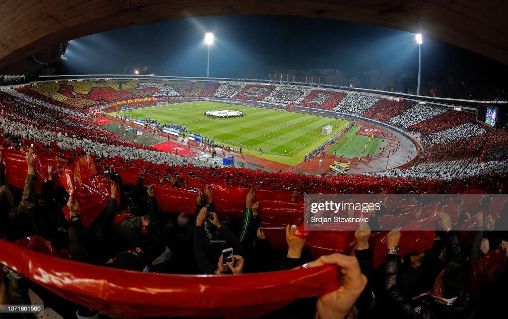 Red Star Belgrade v Paris Saint-Germain - UEFA Champions League Group C : ニュース写真