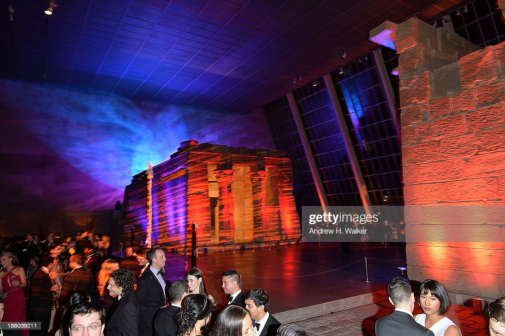 General overview of the 10th annual Apollo Circle benefit at Metropolitan Museum of Art on November 14, 2013 in New York City.
