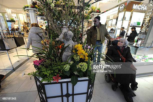 A general overview of the 40th Annual Macy's Flower Show at Macy's Herald Square on March 23 2014 in New York City
