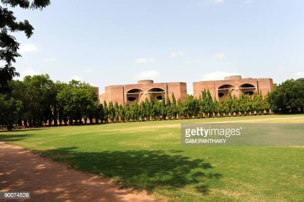 General overview of the campus of the Indian Institute of Management in Ahmedabad on August 25 2009 To date three students have tested positive for...