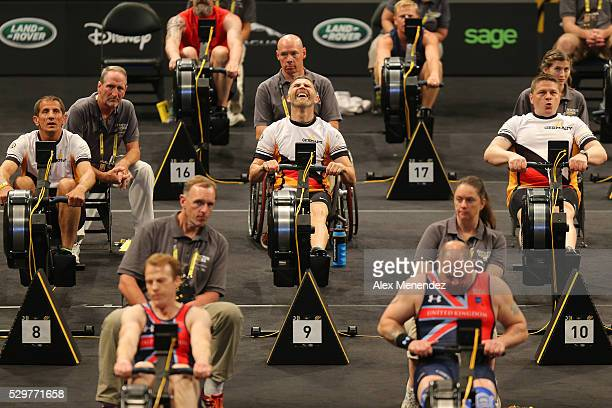A general overview of the competition field during the Invictus Games Orlando 2016 Rowing Finals at the ESPN Wide World of Sports Complex on May 9...